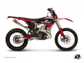 Kit Déco Moto Cross Eraser Gasgas 250 EC Rouge - Blanc