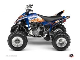 Kit Déco Quad Eraser Yamaha 250 Raptor Bleu Orange