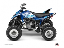 Yamaha 250 Raptor ATV Eraser Graphic Kit Blue