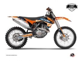 Kit Déco Moto Cross Eraser KTM 250 SX Bleu Orange LIGHT