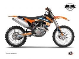 Kit Déco Moto Cross Eraser KTM 250 SX Bleu Orange LIGHT