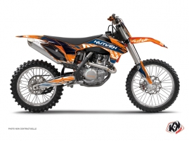 Kit Déco Moto Cross Eraser KTM 250 SX Bleu Orange