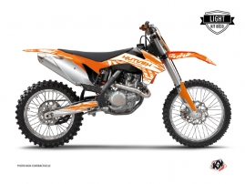 Kit Déco Moto Cross Eraser KTM 250 SX Orange LIGHT