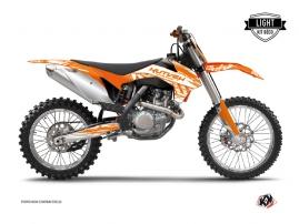 Kit Déco Moto Cross Eraser KTM 250 SX Orange LIGHT