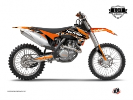 Kit Déco Moto Cross Eraser KTM 250 SX Orange Noir LIGHT