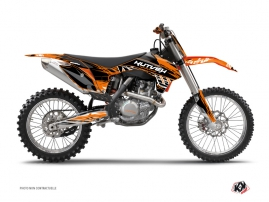 Kit Déco Moto Cross Eraser KTM 250 SX Orange Noir