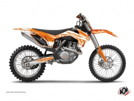 Kit Déco Moto Cross Eraser KTM 250 SX Orange