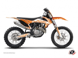 Kit Déco Moto Cross Eraser KTM 250 SXF Orange
