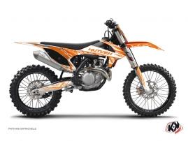 KTM 250 SXF Dirt Bike ERASER Graphic kit Orange