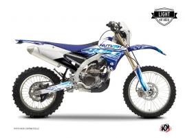 Kit Déco Moto Cross Eraser Yamaha 250 WRF Bleu LIGHT