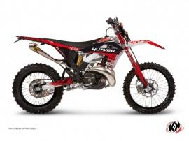 Kit Déco Moto Cross Eraser Gasgas 300 EC F Rouge - Blanc