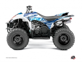 Yamaha 350-450 Wolverine ATV Eraser Graphic Kit Blue