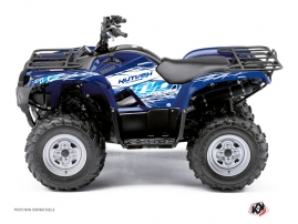 Yamaha 350 Grizzly ATV Eraser Graphic Kit Blue