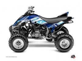 Kit Déco Quad Eraser Yamaha 350 Raptor Bleu