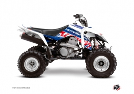 Suzuki 400 LTZ IE ATV Eraser Graphic Kit Blue Red