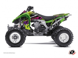 Kawasaki 450 KFX ATV Eraser Graphic Kit Green