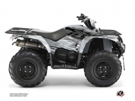 Yamaha 450 Kodiak ATV Eraser Graphic Kit Grey