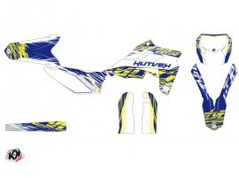 Sherco 450 SEF R Dirt Bike Eraser Graphic Kit White Yellow