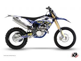 Kit Déco Moto Cross ERASER Sherco 450 SEF R Blanc Jaune
