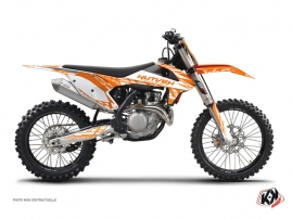 Kit Déco Moto Cross Eraser KTM 450 SXF Orange