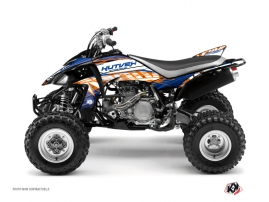 Kit Déco Quad Eraser Yamaha 450 YFZ Bleu - Orange