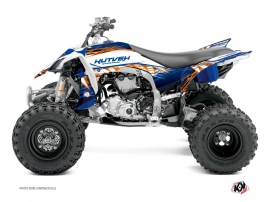 Yamaha 450 YFZ R ATV Eraser Graphic Kit Blue Orange