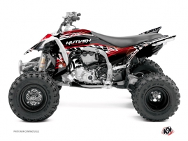 Yamaha 450 YFZ R ATV Eraser Graphic Kit Red White