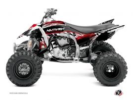 Kit Déco Quad Eraser Yamaha 450 YFZ R Rouge - Blanc