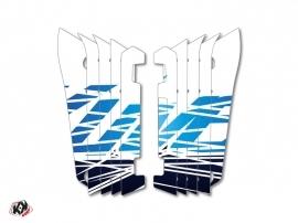 Kit Déco Grilles de radiateur Eraser Yamaha 450 YZF 2014-2016 Bleu