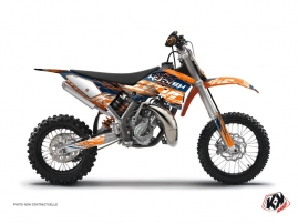Kit Déco Moto Cross Eraser KTM 50 SX Bleu Orange