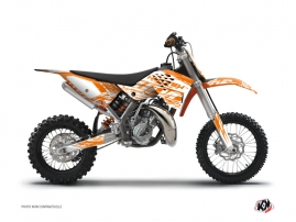 Kit Déco Moto Cross Eraser KTM 50 SX Orange