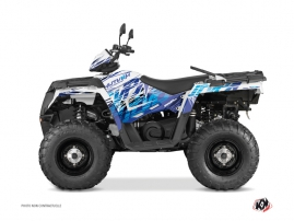 Kit Déco Quad Eraser Polaris 570 Sportsman Touring Bleu