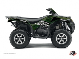 Kawasaki 650 KVF ATV Eraser Graphic Kit Black Green