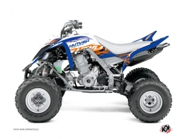 Kit Déco Quad Eraser Yamaha 660 Raptor Bleu Orange