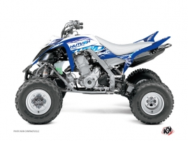Yamaha 660 Raptor ATV Eraser Graphic Kit Blue
