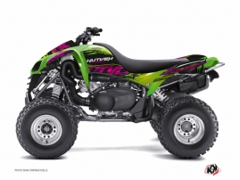 Kawasaki 700 KFX ATV Eraser Graphic Kit Green