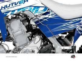 Kit Déco Protection de cadre Quad Eraser Yamaha 700 Raptor 2013-2016 Bleu