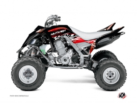 Yamaha 700 Raptor ATV Eraser Graphic Kit Red White