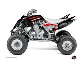Kit Déco Quad Eraser Yamaha 700 Raptor Rouge - Blanc