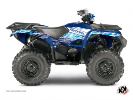 Yamaha 700-708 Grizzly ATV Eraser Graphic Kit Blue