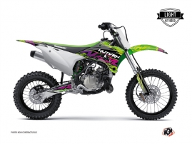 Kit Déco Moto Cross Eraser Kawasaki 85 KX Vert LIGHT