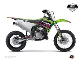 Kit Déco Moto Cross Eraser Kawasaki 85 KX Vert LIGHT