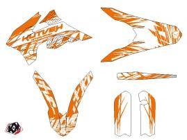 Kit Déco Moto Cross Eraser KTM 85 SX Orange LIGHT