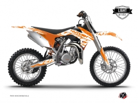 Kit Déco Moto Cross Eraser KTM 85 SX Orange LIGHT