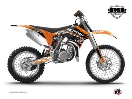 Kit Déco Moto Cross Eraser KTM 85 SX Orange Noir LIGHT