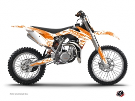 Kit Déco Moto Cross Eraser KTM 85 SX Orange