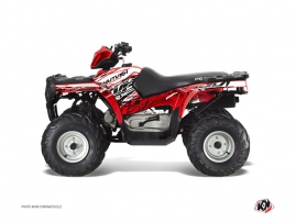 Kit Déco Quad Eraser Polaris 90 Sportsman Rouge Blanc
