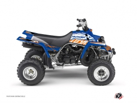 Yamaha Banshee ATV Eraser Graphic Kit Blue Orange