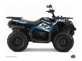 CF MOTO CFORCE 450 S ATV Eraser Graphic Kit Blue Black