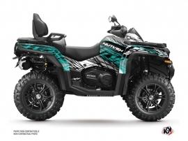 CF MOTO CFORCE 800 XC ATV Eraser Graphic Kit Grey